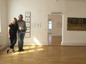 Curators Anne Linder and Volker Sonntag